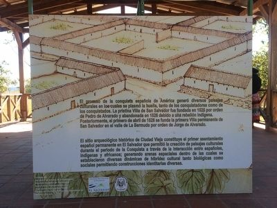 Ciudad Vieja Archaeological Site Marker image. Click for full size.