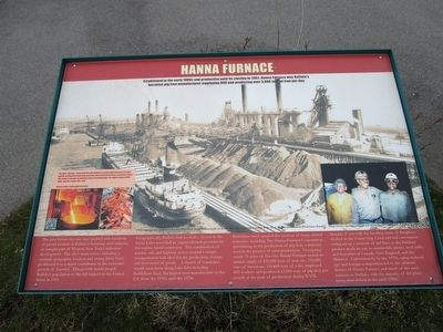 Hanna Furnace Marker image. Click for full size.