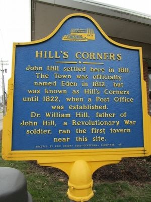 Hill's Corners Marker image. Click for full size.