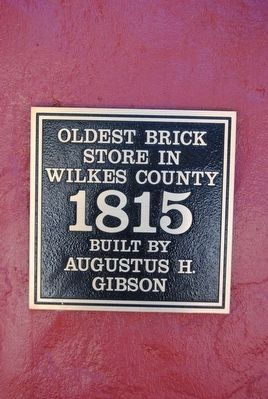 Oldest Brick Store Marker image. Click for full size.