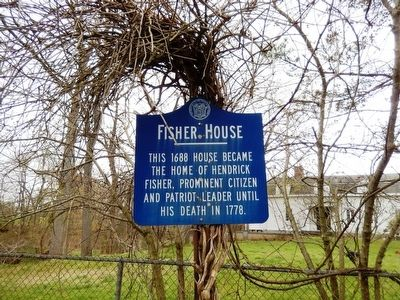 Fisher House Marker image. Click for full size.