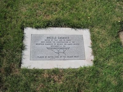 Grave of Angelo Casasco image. Click for full size.