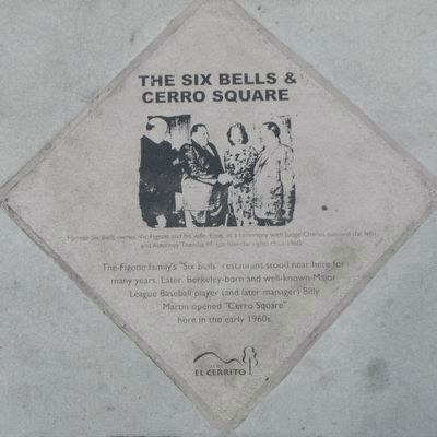 The Six Bells & Cerro Square Marker image. Click for full size.