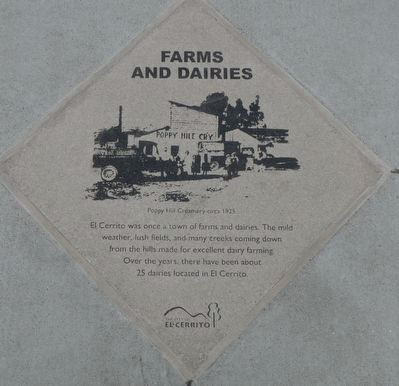 Farms and Dairies Marker image. Click for full size.