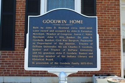 Goodwin Home Marker image. Click for full size.