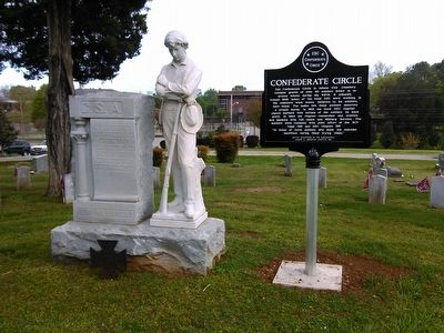 Confederate Circle Marker image. Click for full size.