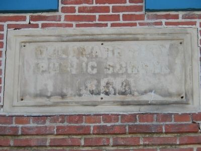 Old Delaware City Public School image. Click for full size.