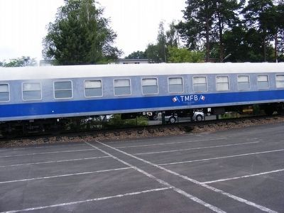Passenger Car of the French Military Train image. Click for full size.