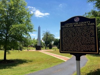 Covington County Veterans Memorial Park image. Click for full size.