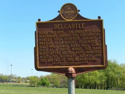 Delcastle Marker image. Click for full size.