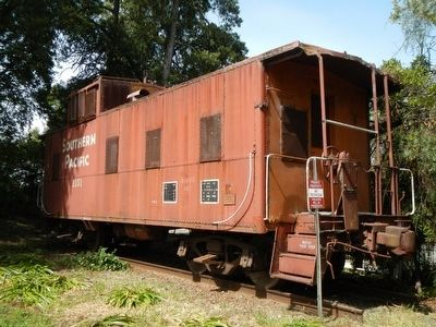 Southern Pacific Caboose No. 1151 image. Click for full size.