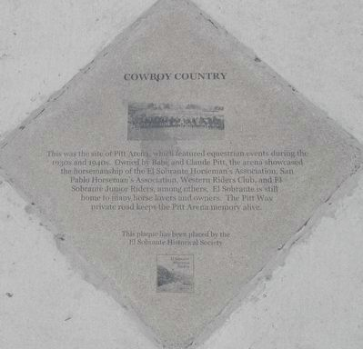 Cowboy Country Marker image. Click for full size.