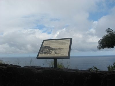 Laupahoehoe Point Marker image. Click for full size.