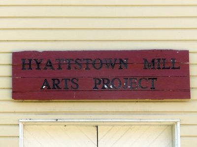 Hyattstown Mill Arts Project image. Click for full size.