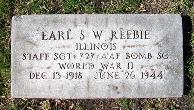 Earl Seymour Wharton Reebie Marker image. Click for full size.