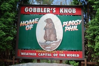 Groundhog Day Sign image. Click for full size.