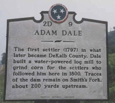 Adam Dale Marker image. Click for full size.