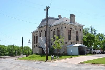 Coleman County Jail image. Click for full size.