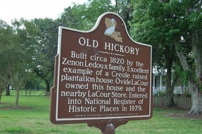 Old Hickory Marker image. Click for full size.