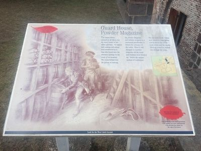 Guard House, Powder Magazine Marker image. Click for full size.