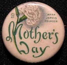 Mothers Day Campaign Button image. Click for full size.