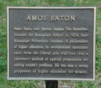 Amos Eaton Marker image. Click for full size.