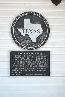The Turner House Marker image. Click for full size.