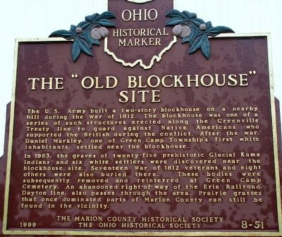 The Old Blockhouse Site Marker image. Click for full size.