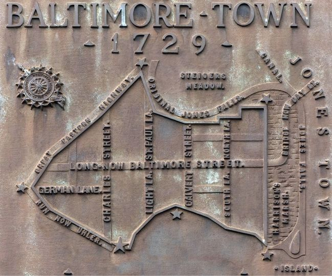 Baltimore Town 1729 image. Click for full size.