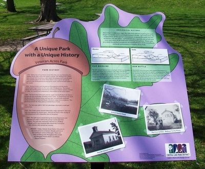 A Unique Park with a Unique History Marker image. Click for full size.