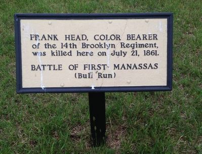 Frank Head Marker image. Click for full size.
