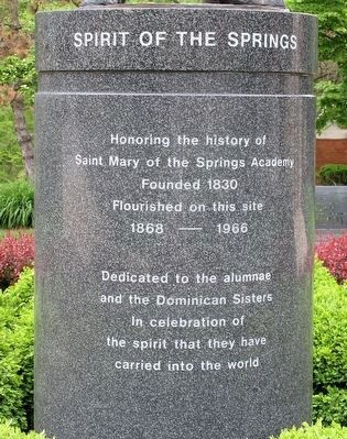 Spirit of the Springs Marker image. Click for full size.