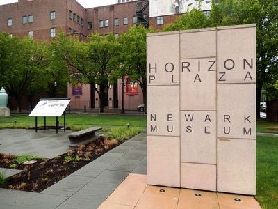 Horizon Plaza at the Newark Museum image. Click for full size.