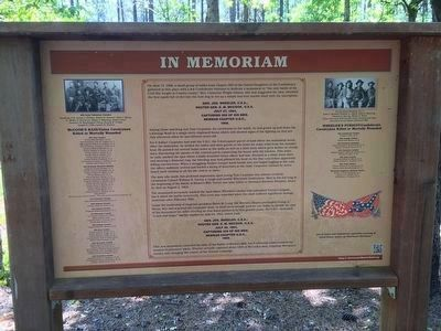 Interpretive marker erected next to Joe Wheeler monument. image. Click for full size.