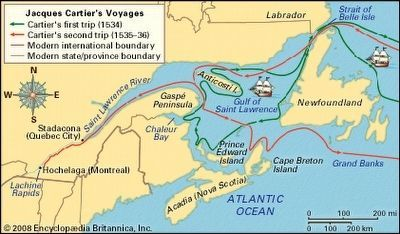 The Voyages of Jacques Cartier image. Click for full size.