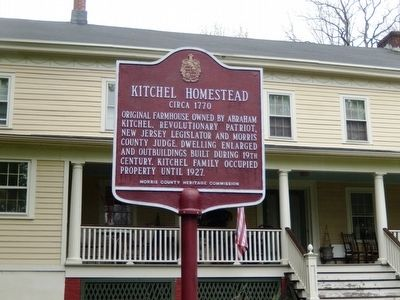 Kitchel Homestead Marker image. Click for full size.
