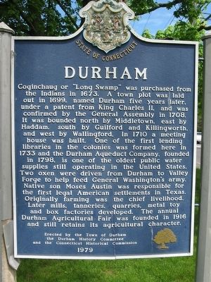Durham Marker image. Click for full size.