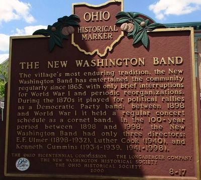 The New Washington Band Marker image. Click for full size.