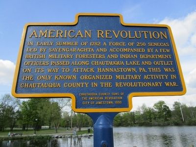 American Revolution Marker image. Click for full size.