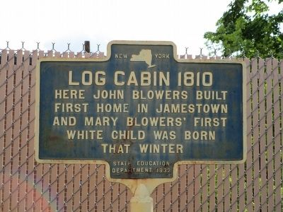 Log Cabin 1810 Marker image. Click for full size.