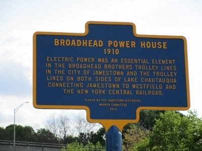 Broadhead Power House Marker image. Click for full size.