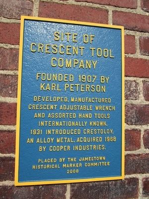 Crescent Tool Company Marker image. Click for full size.