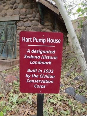 Hart Pump House Marker image. Click for full size.