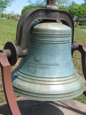 Congregational Church Bell image. Click for full size.