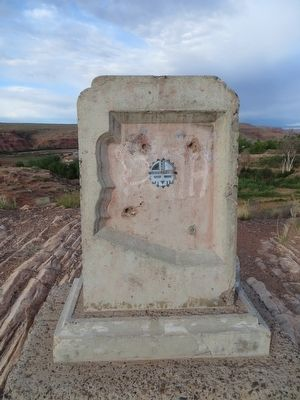 Arizona's First Woolen Mill Marker image. Click for full size.