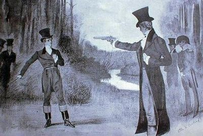 Depiction of Jackson Dikinson Duel image. Click for full size.