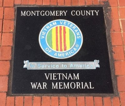 Montgomery County Vietnam War Memorial image. Click for full size.