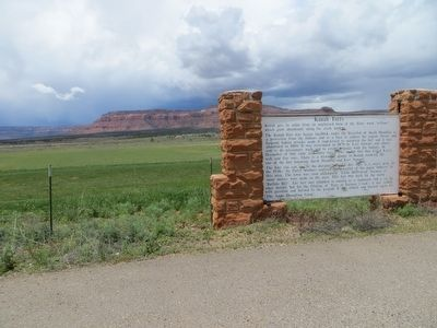Kanab Forts Marker image. Click for full size.