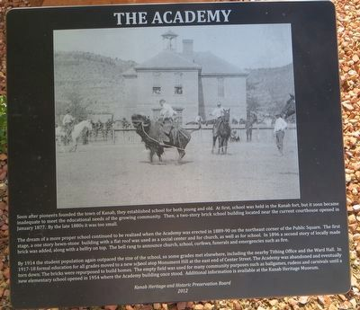 The Academy Marker image. Click for full size.