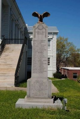Chester County World War I Monument Photo, Click for full size